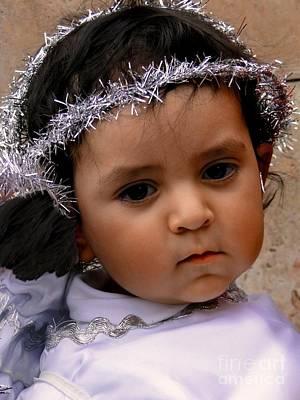 Christmas Eve Photograph - Cuenca Kids 372 by Al Bourassa