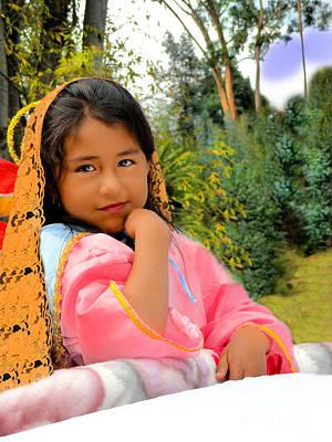 Christmas Eve Photograph - Cuenca Kids 531 by Al Bourassa