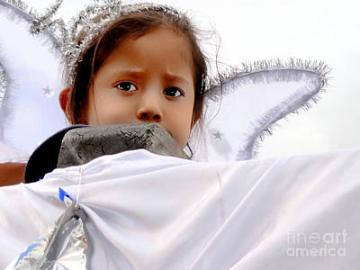 Christmas Eve Photograph - Cuenca Kids 557 by Al Bourassa