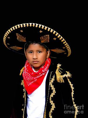 Christmas Eve Photograph - Cuenca Kids 596 by Al Bourassa
