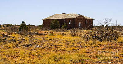 Photograph - Cuervo New Mexico Ghost Town 1 by Deborah Smolinske