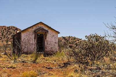 Photograph - Cuervo New Mexico Ghost Town 12 by Deborah Smolinske