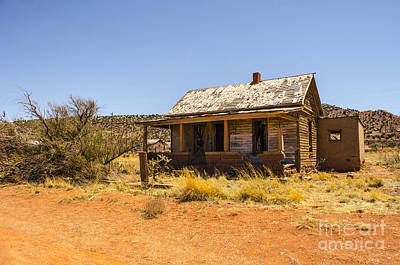 Photograph - Cuervo New Mexico Ghost Town 13 by Deborah Smolinske