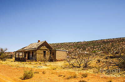 Photograph - Cuervo New Mexico Ghost Town 14 by Deborah Smolinske