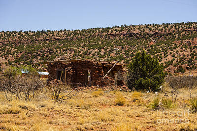 Photograph - Cuervo New Mexico Ghost Town 2 by Deborah Smolinske
