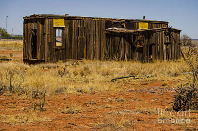 Photograph - Cuervo New Mexico Ghost Town 3 by Deborah Smolinske