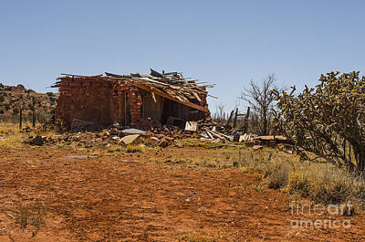 Photograph - Cuervo New Mexico Ghost Town 5 by Deborah Smolinske