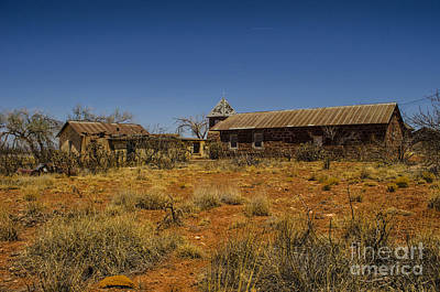 Photograph - Cuervo New Mexico Ghost Town 7 by Deborah Smolinske
