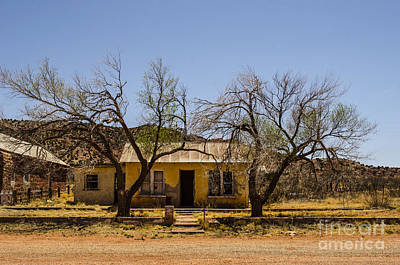 Photograph - Cuervo New Mexico Ghost Town 9 by Deborah Smolinske