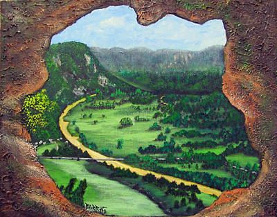 Painting - Cueva Ventana by Gloria E Barreto-Rodriguez