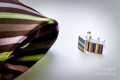 Cuff Links Art Print by Tim Hester