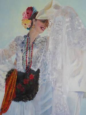 Painting - Cuidado by Luz Perez
