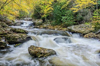 Photograph - Cullasaja Autumn by Anthony Heflin