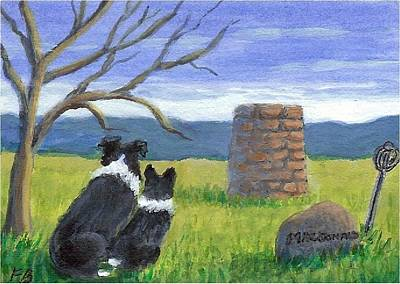 Painting - Culloden Watch by Fran Brooks