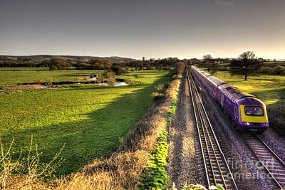 Culm Valley Hst  Print by Rob Hawkins