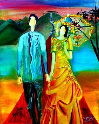 Cultural Impressions 1 Original by Rom Galicia
