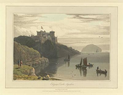 Culzean Castle In Ayrshire Art Print by British Library
