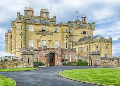 Photograph - Culzean Castle - Scotland by Alan Toepfer