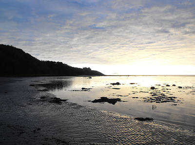 Castles In The Sand Photograph - Culzean Sunset by Dean Stoker