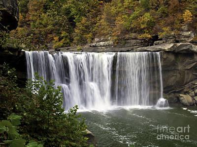 Cumberland Falls H Art Print by Ken Frischkorn