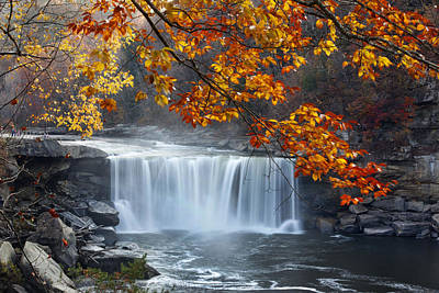 Photograph - Cumberland Falls by Robert Camp