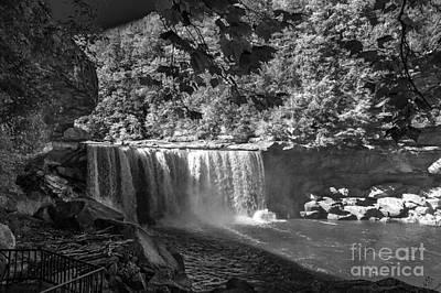 Cumberland Falls Six Bw Art Print by Ken Frischkorn