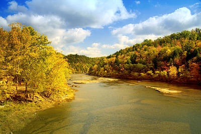 Landscape Photograph - Cumberland River by Alexey Stiop