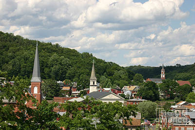 Photograph - Cumberland Steeples by Jeannette Hunt