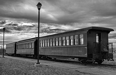 Photograph - Cumbres And Toltec Cars by Robert Meyers-Lussier