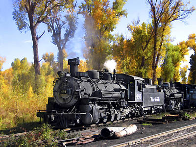 Photograph - Cumbres And Toltec Railroad by Kurt Van Wagner