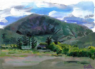 Cumeen Mountain From Tularee Dingle On Ireland's Wild Atlantic Way Original