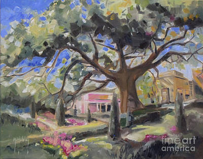 Cummer Oak Art Print by Mary Hubley