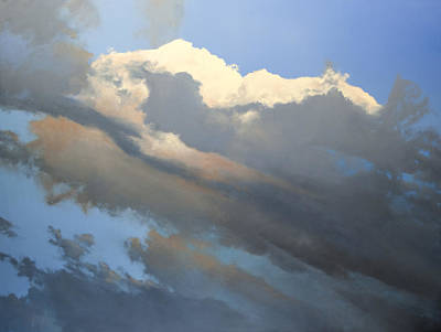 Painting - Cumulus 2 by Cap Pannell