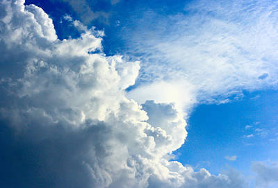 Cumulus Cloud Art Print