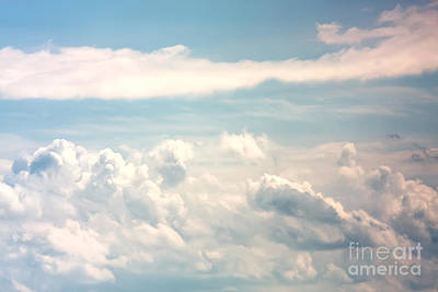 Cumulus Clouds Art Print