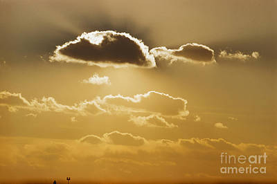 Photograph - Cumulus Clouds by John G Ross