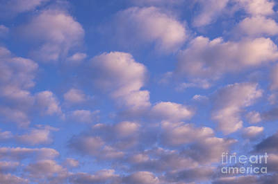 Photograph - Cumulus Clouds Sunrise by Jim Corwin