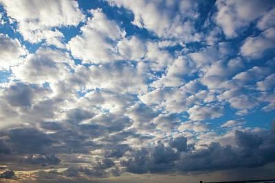 Cumulus Cloudscape Art Print by Photostock-israel