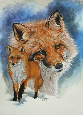 Cunning Art Print by Barbara Keith