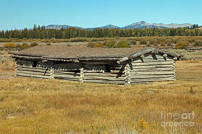Photograph - Cunningham Cabin Grand Teton National Park by Fred Stearns
