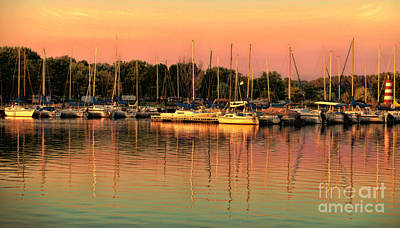 Photograph - Cunningham Lake Marina by Elizabeth Winter