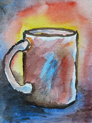 Loose Style Painting - Cup #4 by Susan Porter