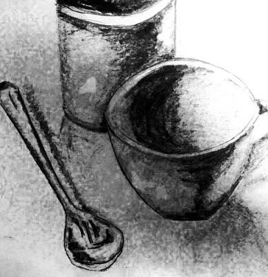 Digital Art - Cup And Spoon by Ryan Adams