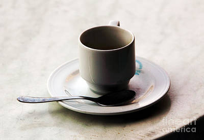 Photograph - Cup by John Rizzuto