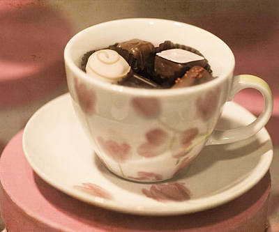Cup Of Chocolate Art Print by Juli Scalzi