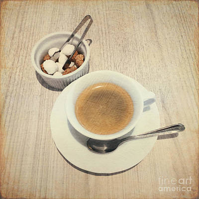Photograph - Cup Of Coffee And Sugar Cubes For You by Beverly Claire Kaiya