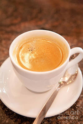 Cup Of Coffee Art Print by Iris Richardson