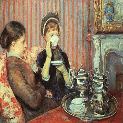 Painting - Cup Of Tea by Florene Welebny