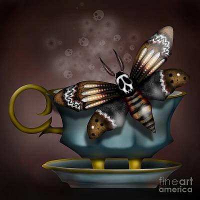 Digital Art - Cup Of Tea?  by J Kinion