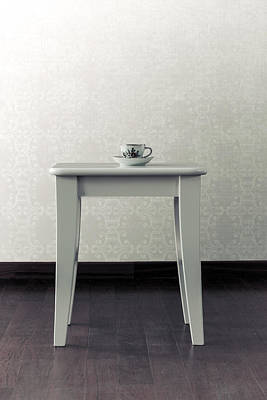 Tableware Photograph - Cup On Stool by Joana Kruse